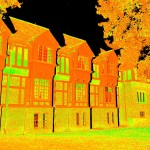 Laser scan of Bernard Maybeck building