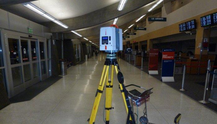 Laser Scanning in Airport