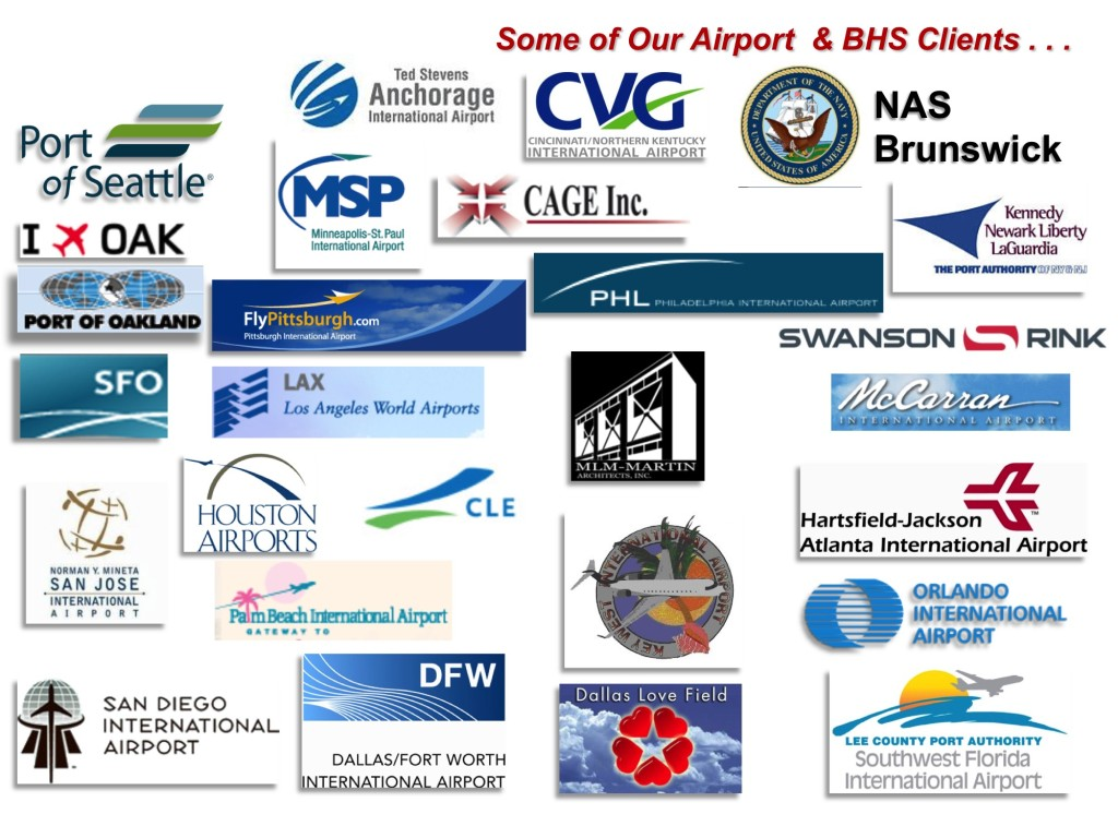 Airport and BHS clients