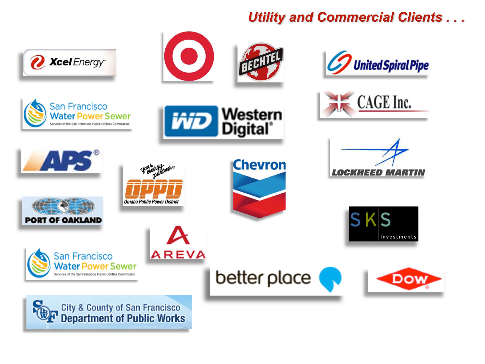 Utility and Commercial Clients