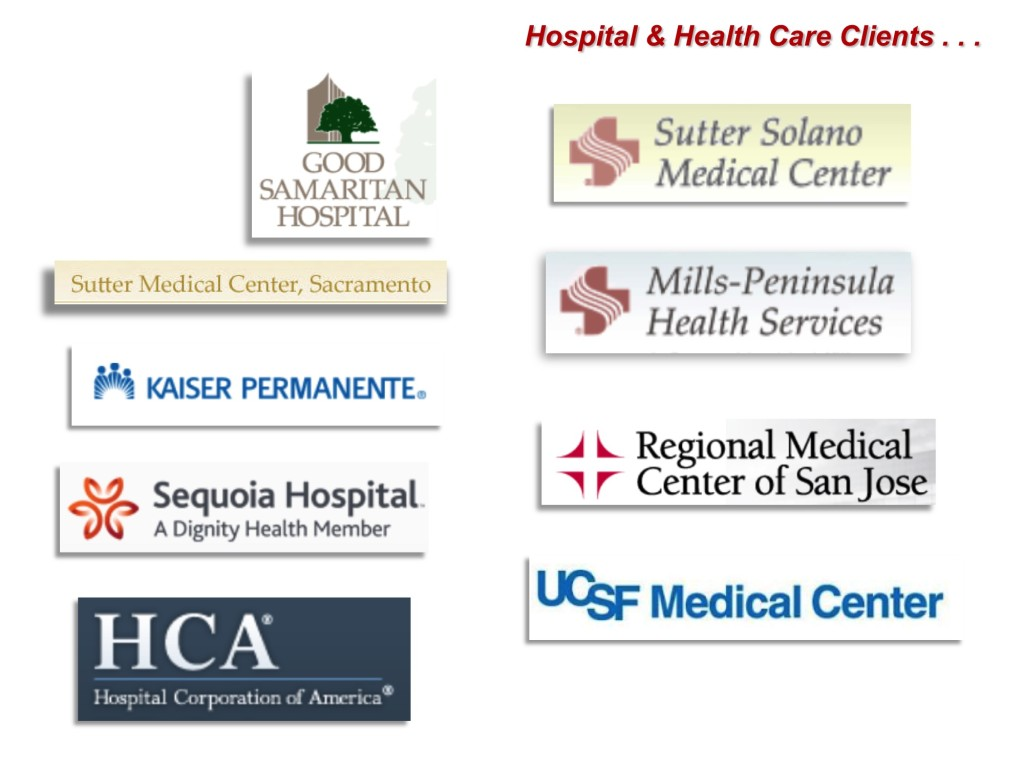 Hospital and Health Care Clients