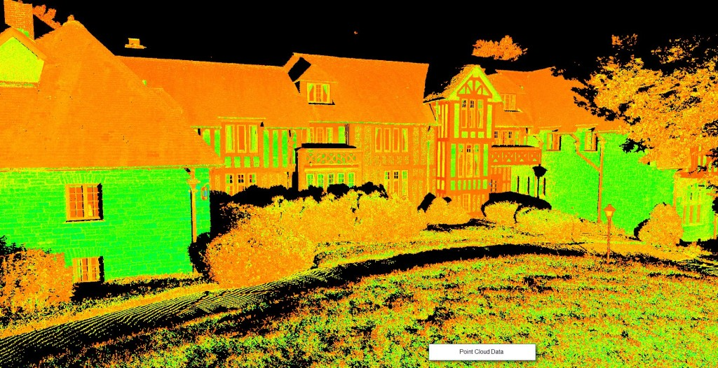 Bernard Maybeck Laser Scan Building